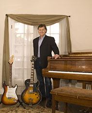Photo of guitar instructor John Caterino.