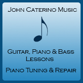 Logo for John Caterino Music.